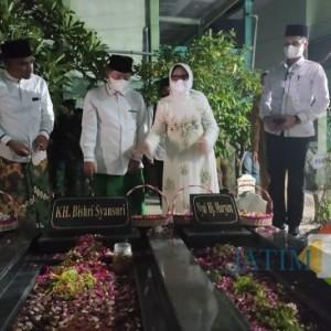 Kunjungi Makam Pencetus Lambang Partai, Ini Pesan Ketum PPP Suharso Manoarfa