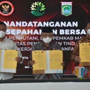 Cegah Paham Radikal dan Terorisme, Pemkab Malang Mou Dengan BNPT dan Perhutani
