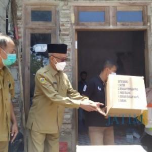 Bupati Salwa Kirim Bantuan Sembako pada Warga Terdampak Puting Beliung