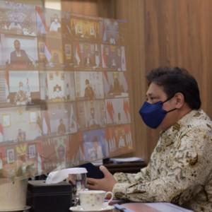 Pengendalian Covid-19 Indonesia Sangat Baik, Menko Airlangga: Tetap Waspada Hadapi Event Nasional dan Libur Nataru