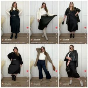 Punya Tubuh Plus Size, Ini Tips Pilih Outfit yang Simple dan Up To Date