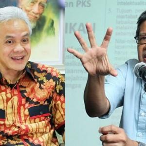 Kala Ganjar Pranowo Membalas Pujian ke Rocky Gerung Usai Disebut Bodoh di Mata Milenial