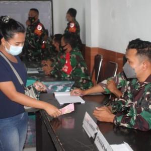 Kodim 0833/Kota Malang Salurkan BTPKLW Kepada 4.200 Pedagang Kota Malang