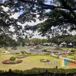 Masuk PPKM Level 2, Taman Kota Malang Boleh Buka dengan Penjagaan Ketat