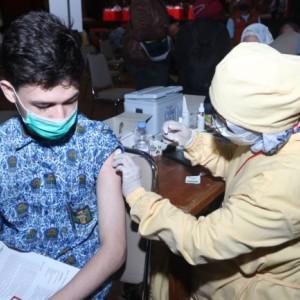 Vaksinasi Pelajar Kota Malang Ditarget Tuntas Pekan ini