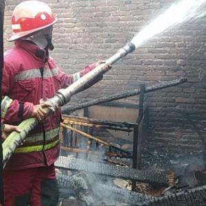 Lalai Matikan Kompor, Si Jago Merah Amuk Rumah di Sukun