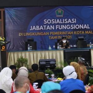 Kuatkan Kompetensi ASN, Ratusan Guru di Kota Malang Ikuti Sosialisasi Jabatan Fungsional