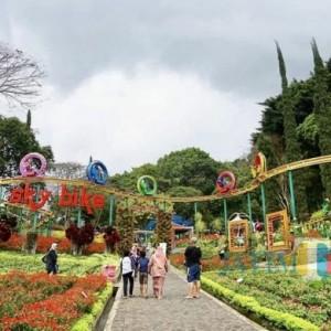 Ribuan Wisatawan Mulai Padati Wisata Kota Batu