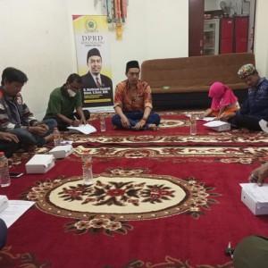 Jaring Aspirasi saat Reses, Anggota Fraksi PKS DPRD Kota Malang Sampaikan 4 Hal ke Pemkot