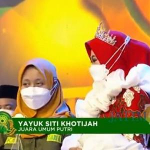 Yayuk Siti Khotijah Neng Asal Tuban Terpilih Sebagai Duta Santri Nasional 2021