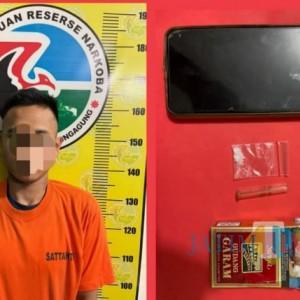 Nyambi Edarkan Sabu, Pengrajin Kayu Asal Kedungwaru Ditangkap Polisi