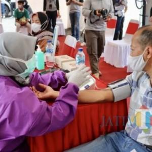 5 Ribu Dosis Vaksin Digelontorkan di 11 Titik Kota Batu