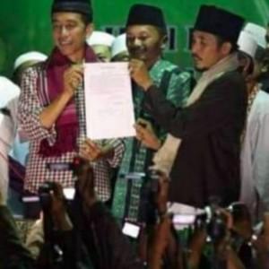 Refleksi Hari Santri, Ketua Bamusi Kabupaten Malang Sebut Ada Jasa Besar Presiden Jokowi