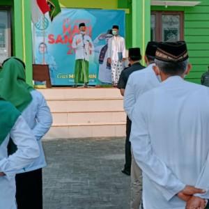 Hari Santri, Ketua Dewan Syuro PKB Kabupaten Blitar Ingatkan Santri Tingkatkan Kualitas