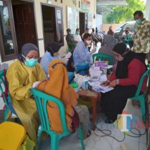 Warga Desa Majungan Pamekasan Antusias Ikuti Vaksinasi