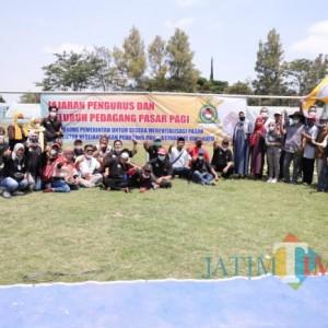 PKL Pasar Pagi Gelar Selamatan Wiwitan Sambut Relokasi ke Stadion Brantas