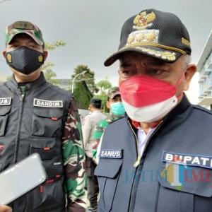 Dandim 0818 Kabupaten Malang-Kota Batu Perintahkan Jajarannya Vaksinasi Door to Door