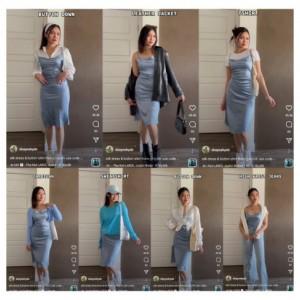 Anti Sexy, Ini Tips Kenakan Silk Dress dengan Berbagai Style yang Up To Date