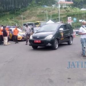 Satgas Covid-19 Kabupaten Malang Sasar Tempat Wisata, Banyak Kendaraan di JLS Putar Balik
