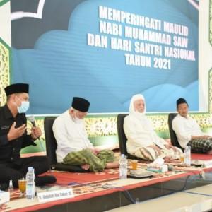 Gubernur Khofifah Indar Parawansa Ingatkan Pesan Bung Karno saat Hadiri Peringatan Maulid Nabi