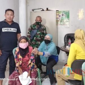 KPM BLT DD Plampaan Divaksin untuk Dapat Bantuan, Kades: Antusias Tinggi
