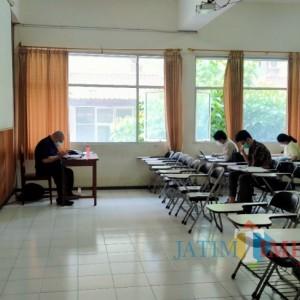 PPKM Level 2, Mahasiswa UM Mulai Lakukan Kuliah Tatap Muka