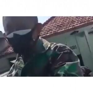 Viral Video Oknum TNI Tuding Warga di Sampang Sebagai FPI karena Tolak Vaksin