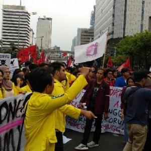 Evaluasi 2 Tahun Kepemimpinan Jokowi-Ma'ruf, BEMUI dan Buruh Gelar Demo di Depan Istana Hari Ini