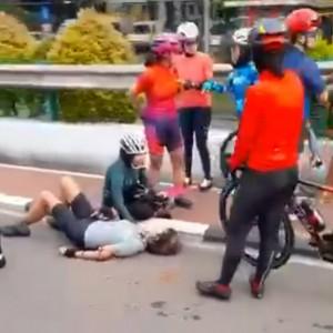 Video Viral Diduga Anak Bos Maspion Ditebas Tangannya, Polda Jatim: Itu Hoaks
